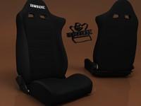 3dsmax sport seat bride