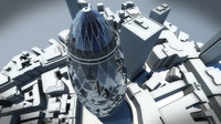 3d model 30 st mary axe