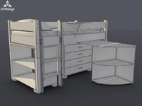 free obj model stand closet