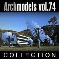 3d archmodels vol 74