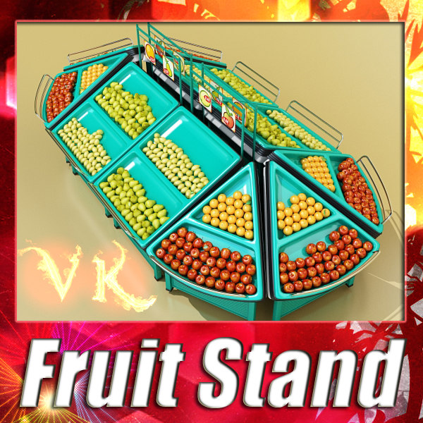 Fruit stand square + triangle + pear + lemon + aplle + orange preview 0.jpg