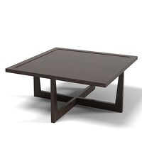 Giorgetti coffee cocktail square table modern contemporary