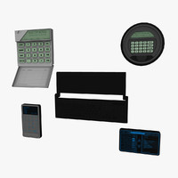 3ds max keypads pack keyboard pads