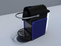 nespresso pixie 3d model