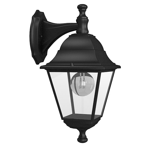 Garden Lamp 3d Model: Outdoor Wall Lamp 3d Model