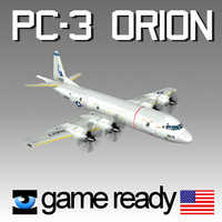 orion pc 3 navy 3d model