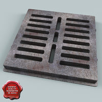 3ds sewer grate