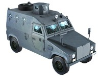 3d otokar shorland jeep model
