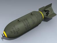 an-m64 bomb 3d model