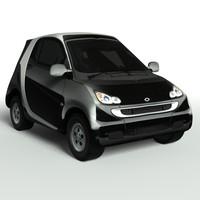 3ds max smart car
