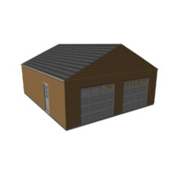 garage door 3d model