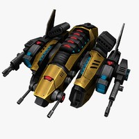 ship ready games 3d model