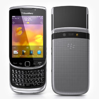 blackberry torch 9810 3d max