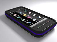 nokia 5800 express phone 3d model