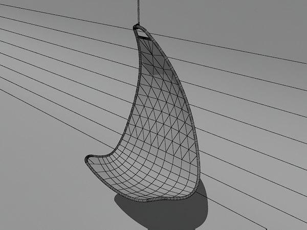 ikea ps svinga chair 3d model. Black Bedroom Furniture Sets. Home Design Ideas