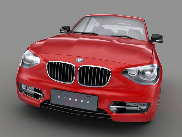 : 2011 3ds - BMW serie 1 2012... by dessga