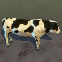 3ds max cow games realtime