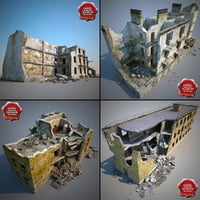 Destroyed Houses Collection V1