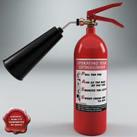 extinguisher v1 3d model