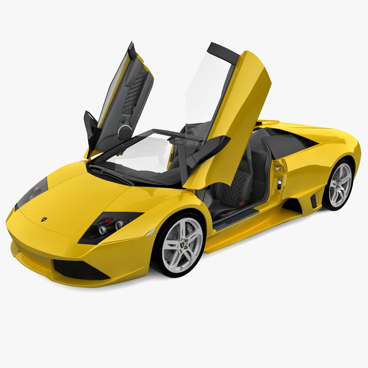 Lamborghini Murcielago: C4d Lamborghini Murcielago Roadster