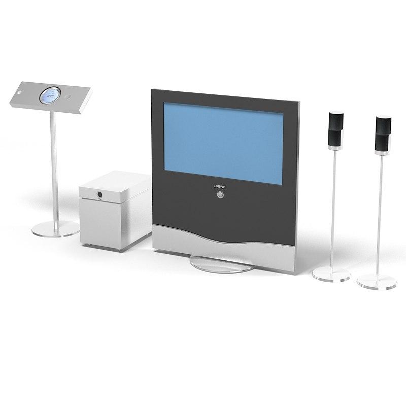 loewe home center 3d 3ds. Black Bedroom Furniture Sets. Home Design Ideas