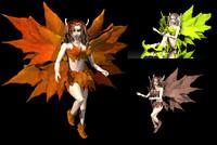 3dsmax tree fairy fantasy