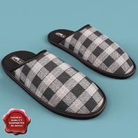 3d model slippers espa