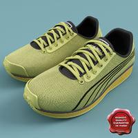 sneakers puma faas 250 3d model