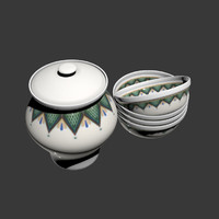 ukrainian pottery 3d 3ds