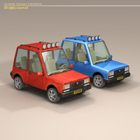 Cartoon Suv
