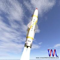 3d prithvi missile