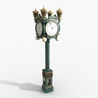 3d carol s clocks model