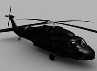 3ds max blackhawk helicopter