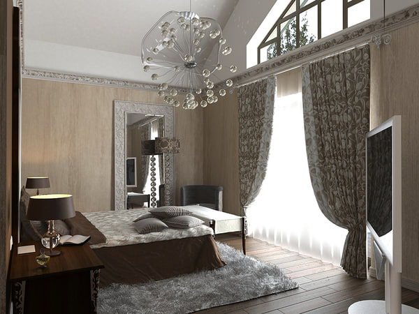 bedroom home 3d model - Bedroom... by djkorg