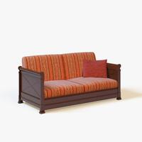 3d sofa anais model