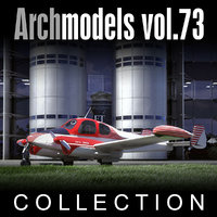 archmodels vol 73 airplanes 3d model