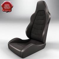 3d auto seat v2 model