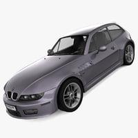 bmw 3 series e37 3d model