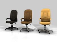 chair office c4d free
