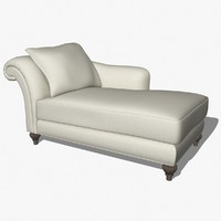 Baker 941-67-9 Chaise Lounge