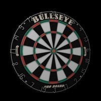 Dart Board Low Poly