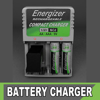 3d model energizer charger