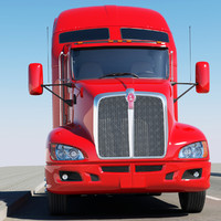 mack truck freightliner 3d model
