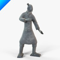 Terracotta Warriors-Standing Archer