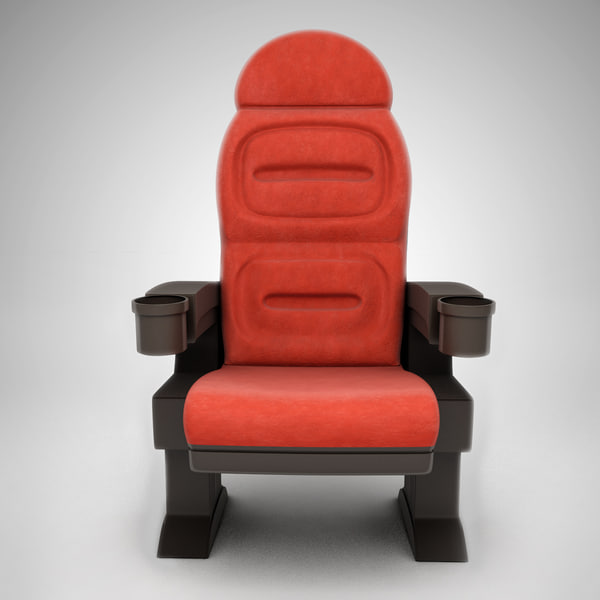 3d chair cine - Cinema Seat... by eduardot_44