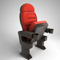 3d model chair cine