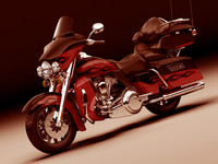 3ds max harley davidson electra