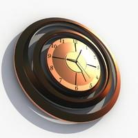 Big Brass Wall Clock