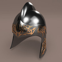 helmet chinese 3d 3ds