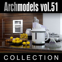 maya archmodels vol 51 kitchen